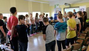 Schultour in der Kooperation mit EDIC GubenZajecia w szkole we współpracy z EDIC  24.05.2019 Krabat-Grundschule Jänschwalde 2