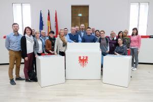 Studienreise zum Landtag in Potsdam 27.03.2019,Wizyta studyjna w Landtagu w Poczdamie 27.03.2019